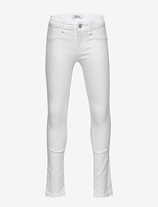 Aubrie Denim Legging - WHITE