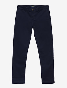 Stretch Cotton Chino - pantalons - french navy