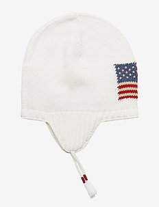 Flag Cotton Earflap Hat - NEVIS