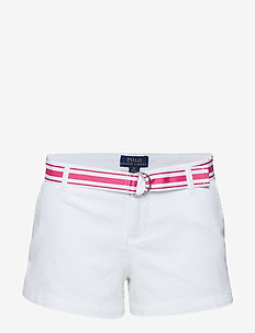 LT WT TISSUE CHINO-CHINO SHORT-BT-S - WHITE