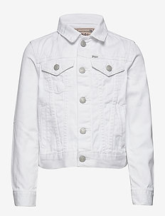 Cotton Denim Trucker Jacket - POE WASH