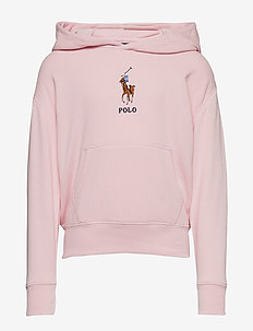 Big Pony French Terry Hoodie - HINT OF PINK