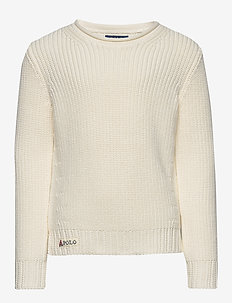 Rollneck Cotton Sweater - knitwear - clubhouse cream