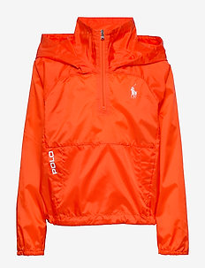 Water-Resistant Windbreaker - windbreaker - sailing orange