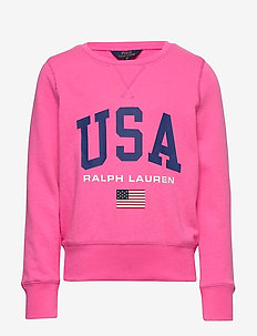 USA French Terry Pullover - svetarit - baja pink