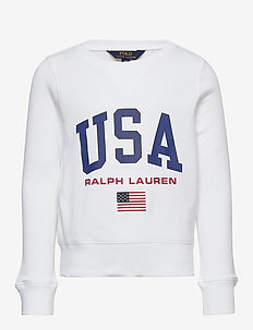 USA French Terry Pullover - sweat-shirt - pure white