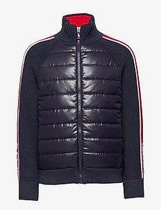 COTTON NYLON BLEND-HYBRID JACKET-TP - puffer & padded - rl navy