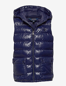Packable Quilted Vest - vester - french navy