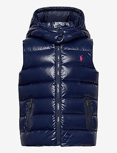 POLY PLAINWEAVE-CHANNEL VEST-OW-VST - vests - french navy