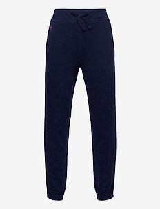 Cotton-Blend-Fleece Jogger - sweatpants - french navy/colle