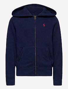 Fleece Full-Zip Hoodie - hupparit - french navy