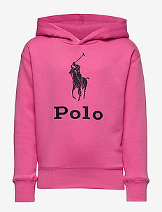 Big Pony Fleece Hoodie - BAJA PINK