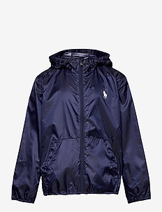 Packable Hooded Jacket - veste coupe-vent - french navy