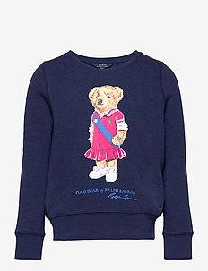 Polo Bear Fleece Sweatshirt - sweatshirts - newport navy