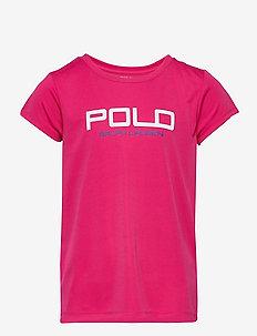 Interlock Graphic Tee - short-sleeved - sport pink