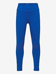 Logo Stretch Jersey Legging - leggings - metro blue