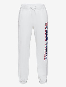 Polo Sport Fleece Jogger - sweatpants - white