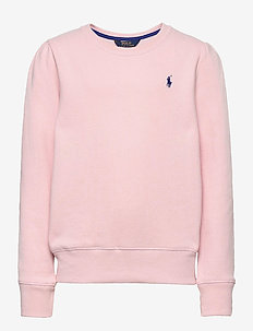 Cotton-Blend-Fleece Sweatshirt - habits tricotés - hint of pink