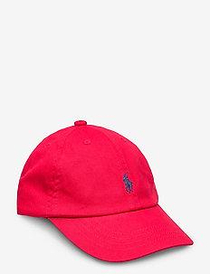 Cotton Chino Baseball Cap - czapki - rl 2000 red