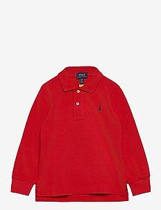 Cotton Mesh Polo Shirt - polos - rl 2000 red