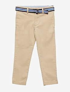 STRTCH TISSUE CHINO-BELTED PANT-BT- - CLASSIC KHAKI