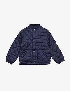 Quilted Jacket - NEWPORT NAVY