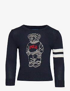 COMBED COTTON-LS CN-TP-SWT - HUNTER NAVY