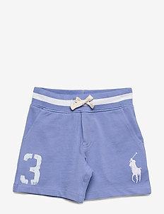 Big Pony Cotton Mesh Short - FALL BLUE