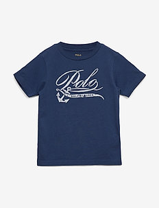 Cotton Jersey Graphic Tee - FEDERAL BLUE