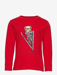 Ski Bear Cotton Jersey Tee - RL 2000 RED