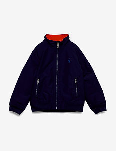 Water-Resistant Windbreaker - vindjakke - newport navy