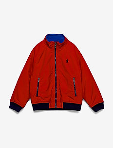Water-Resistant Windbreaker - vindjakke - rl 2000 red