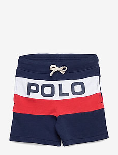 Logo Cotton French Terry Short - shorts - newport navy