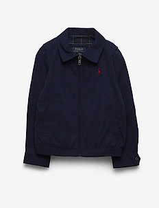 Water-Resistant Twill Jacket - vindjakke - newport navy