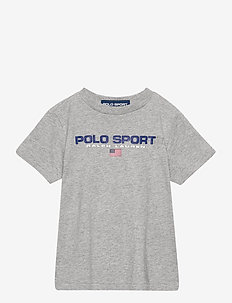 Polo Sport Cotton Jersey Tee - short-sleeved - andover heather
