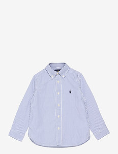 PINPOINT OXFORD-SLIM FIT-TP-SHT - shirts - bsr blue/white