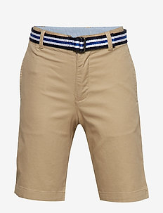 STRTCH TISSUE CHINO-BELTED SHORT-BT - CLASSIC KHAKI
