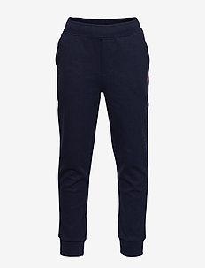 Cotton-Blend Drawstring Pant - FRENCH NAVY