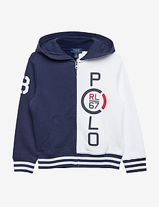 RL 67 Cotton French Terry Hoodie - NEWPORT NAVY