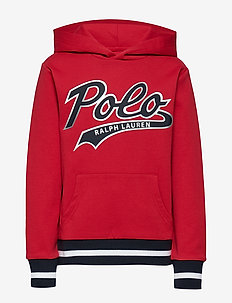 Double-Knit Graphic Hoodie - RL2000 RED