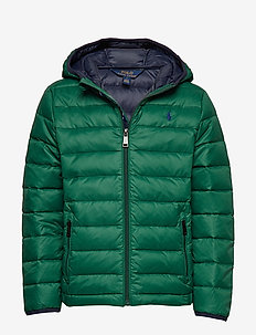 Packable Hooded Down Jacket - NEW FOREST