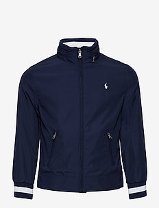 PLAIN WEAVE POLY-WINDBREAKER-OW-JKT - TRUE NAVY