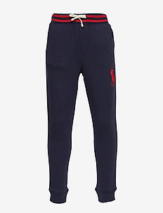 Cotton French Terry Pant - FRENCH NAVY
