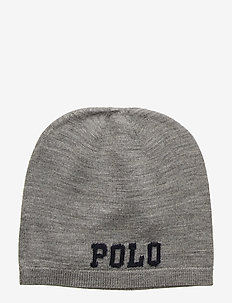 Big Pony Wool Hat - DARK SPORT HEATHE