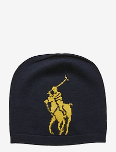 Big Pony Wool Hat - RL NAVY