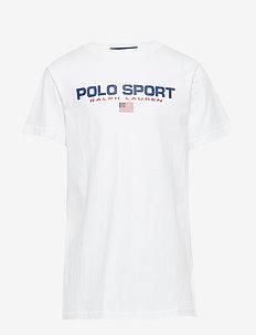 Polo Sport Cotton Tee - WHITE