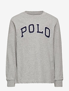 Polo Cotton Jersey Tee - LT GREY HEATHER