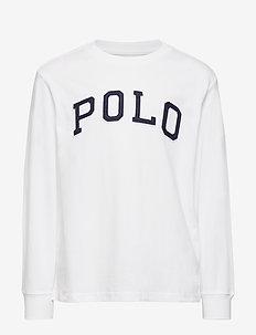 Polo Cotton Jersey Tee - WHITE