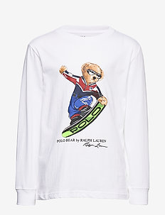 LS CN-TOPS-T-SHIRT - WHITE