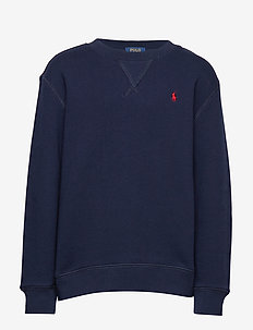 Cotton-Blend-Fleece Sweatshirt - CRUISE NAVY